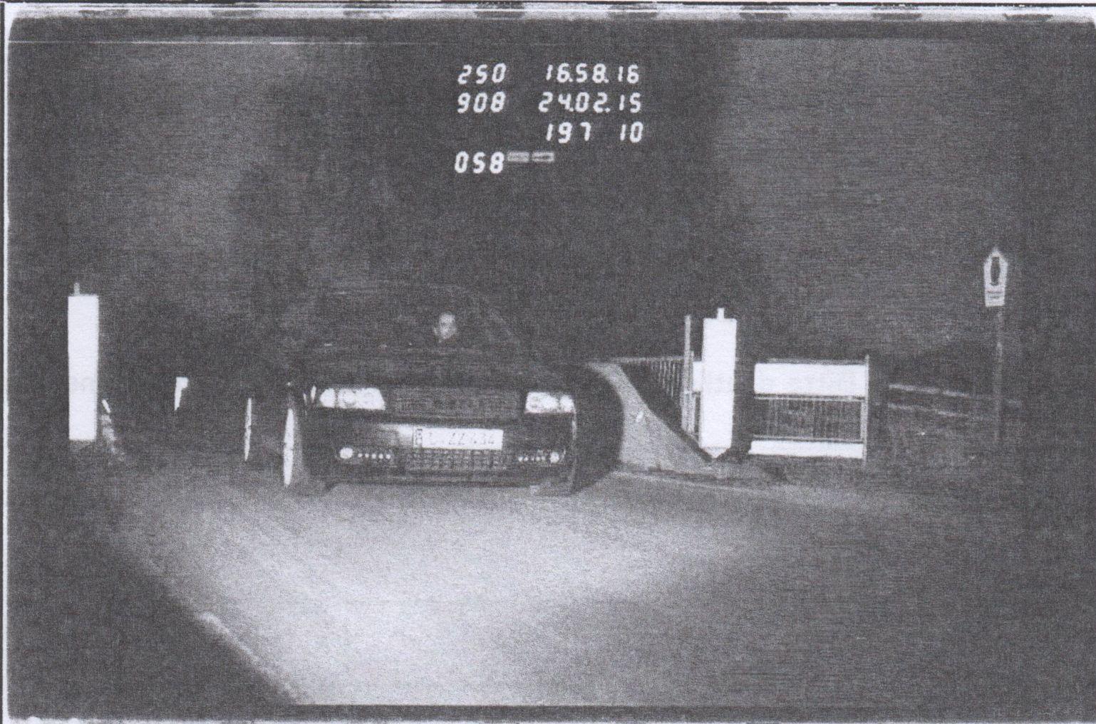 blitzerfoto Audi A6