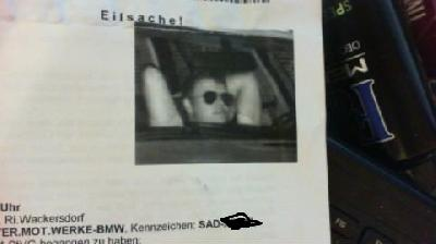 Blitzerfoto BMW E46 318i touring