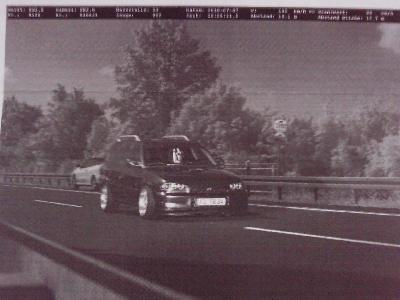 blitzerfoto Opel Astra f